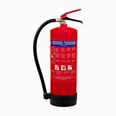 FIRE EXTINGGUISHER NO. POWDER