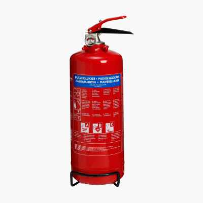 FIRE EXTINGGUISHER NO. POWDER