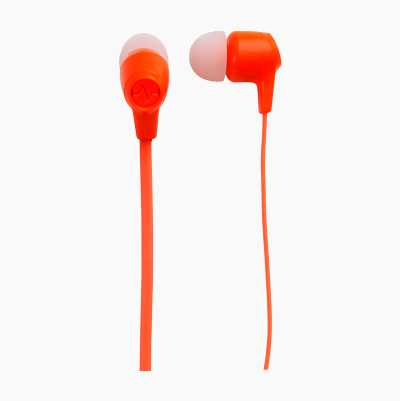 HEADSET INEAR XTRA BASS ORANGE