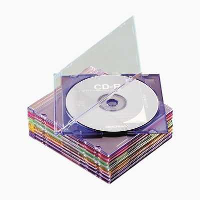 SLIMLINE CD-ETUI 10STK