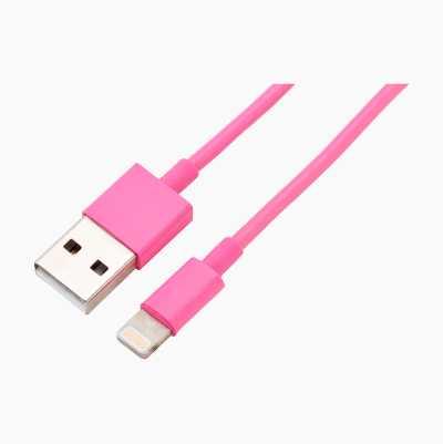 APPLE LIGHTNING-USB 1,0M PINK