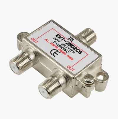 2 WAY SPLITTER 5-2500MHZ