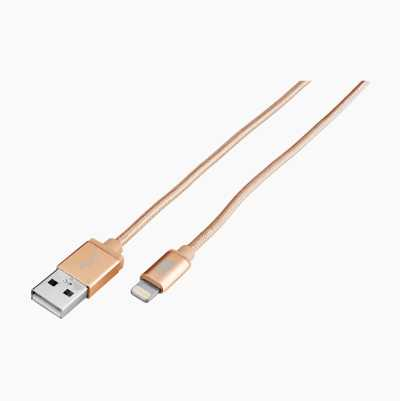 APPLE GOLD LIGHTNING 1M