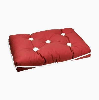 KAPOK CUSHION SINGLE RED