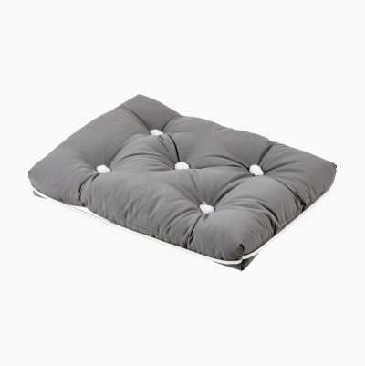KAPOK CUSHION SINGLE GRAY