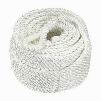 ANCHOR ROPE 12MM 35M POLY/ULL
