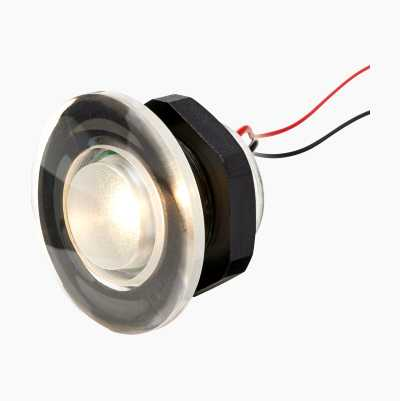 RUND LED-BELYSNING HVIDT LYS