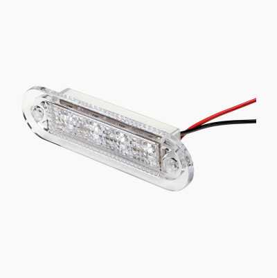 OVAL LED LIGHT RED