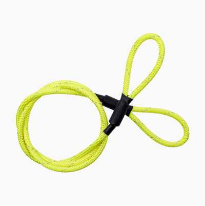 WIRE LOCK 2M YELLOW