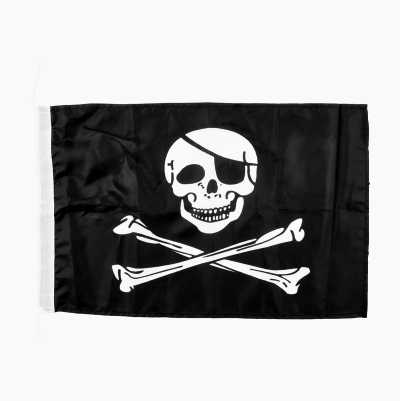 BOAT FLAG PIRATE 300X450MM