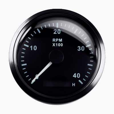 RPM GAUGE 4000RPM 85MM