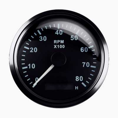 RPM GAUGE 8000RPM 85MM