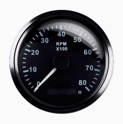 RPM GAUGE 8000RPM 85MM
