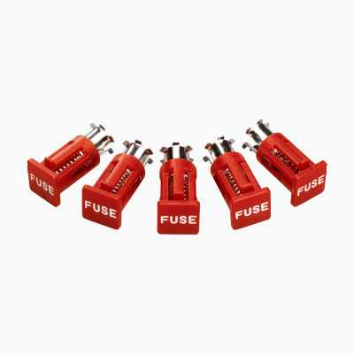FUSE HOLDER VERTICAL 5PCS