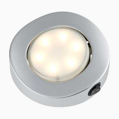 INTERIÖRLAMPA LED 1,5W SILVER