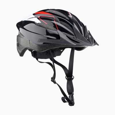 BICYCLE HELMET SR BLACK/RED M