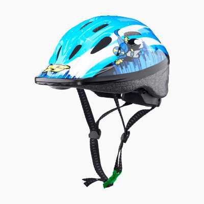 BICYCLE HELMET KID BLUE/HERO S