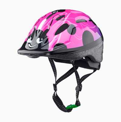 BICYCLE HELMET KID PINK/EYE S