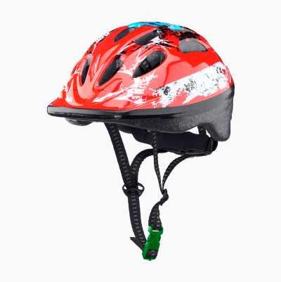 BICYCLE HELMET KID RED S