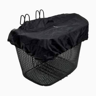 BASKET RAIN COVER - BLACK