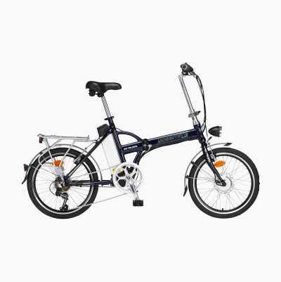 """Kokoontaitettava sähköpolkupyörä 20"""", 7-vaihteinen"""