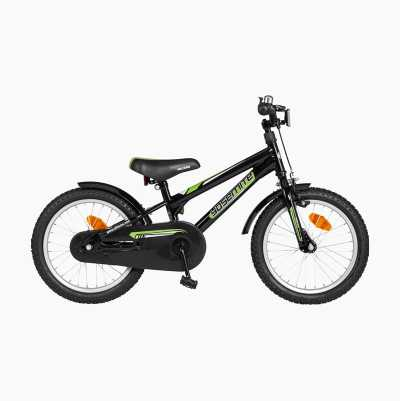 "KIDS BIKE 16"" BLACK"