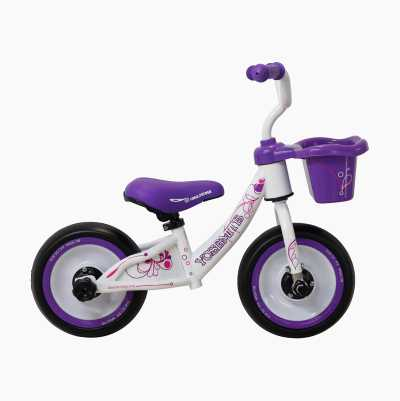 3 IN 1 BALANCE BIKE WHITE/PURP