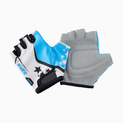 BIKE GLOVE KIDS BLUE M