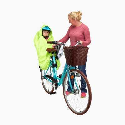 RAIN PONCHO CHILD BIKE SEAT