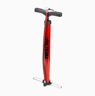 HAND PUMP RED WITH BLACK LOGO