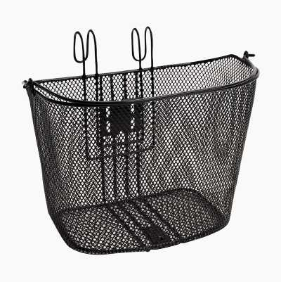BASKET FOR HANDLEBAR BLACK