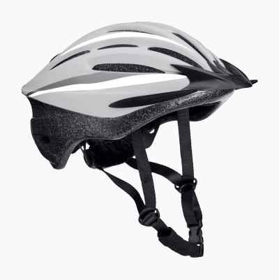 BICYCLE HELMET JR WHT/GR S