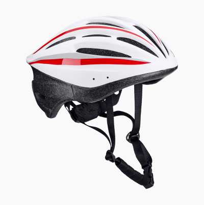 BICYCLE HELMET SR W/G/R L