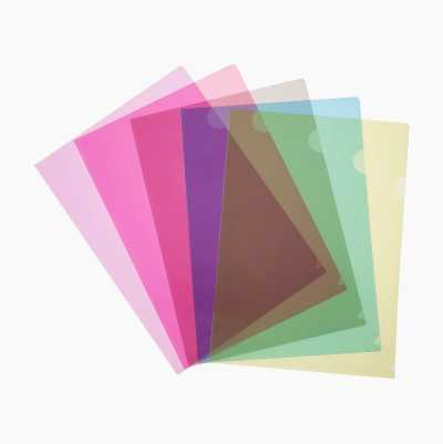 PAPER HOLDER COLOR A4, 12PCS