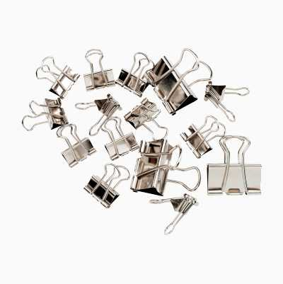 BINDER CLIPS 15PCS