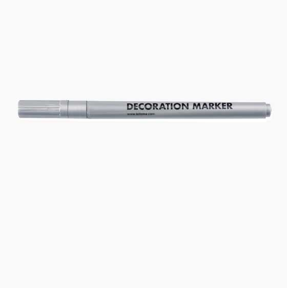 DECORATION MARKER SILVER