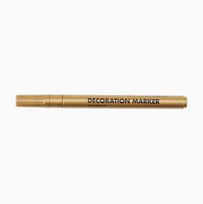 DECORATION MARKER GOLD