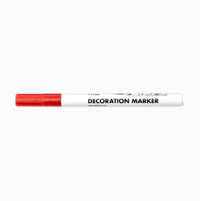 DECORATION MARKER RED