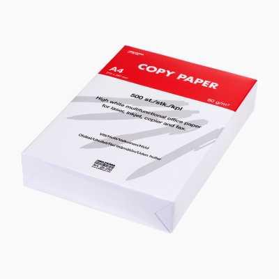 WHITE COPYPAPER A4 80GR