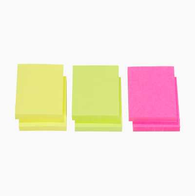 STICKY NOTES 50X40 MM, 2X3-P