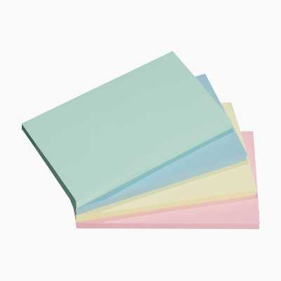 STICKY NOTES 125X75 MM, 4-PACK