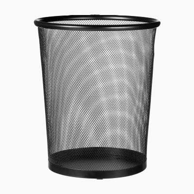 WASTPAPER BASKET METALL MESH