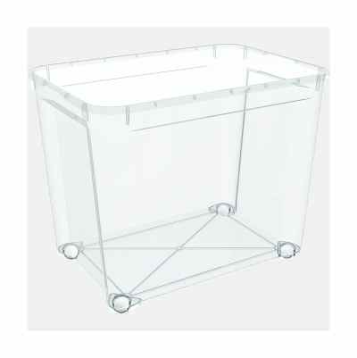 STORAGEBOX PLASTIC 70L,W WHEEL
