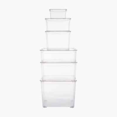 STORAGE BOX PLASTIC 4L