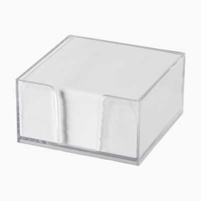 CUBE WITH NOTES