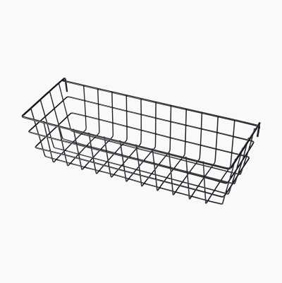 BASKET FOR WIRE NOTICE BOARD