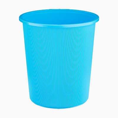 WASTEPAPERBASKET PLASTIC BLUE