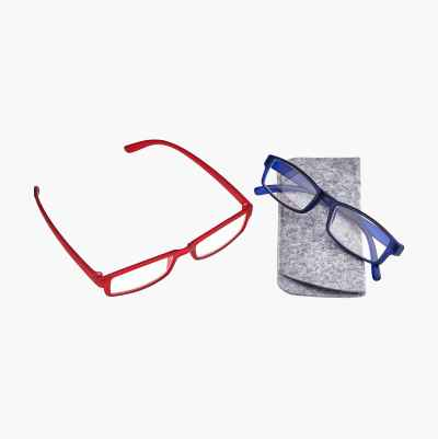 +1.0 TRADITIONAL RED/BLUE READ