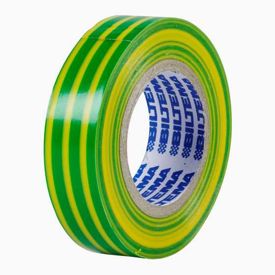PVC INSULATION TAPE YELLOW/GR