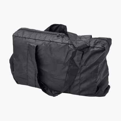 FOLDABLE TOTE BAG BLACK